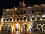 Rossio station is one of the most beautiful in the world and leads you to Sintra! 10 min walking.