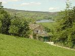 View of Ponden Resevoir and the Upper Worth Valley from Royds Hall Farm