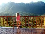 Panoramic views of the mountains
