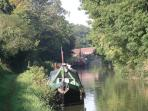 Moorings at Milkhouse Water Bridge