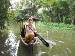 Village cruise in Kuttanadu- our Explorer Kuttanadu package