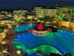 Emerald complex by night