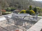 Enjoy the private garden