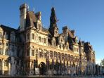 The Hotel de Ville (City Hall) is a short walk from the apartment.