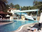 Hotel Pool with waterslide