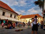 Lively days and nights in Varazdin