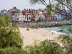 Puerto Sherry y la playa de la muralla