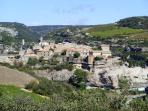 The Cathar village of Minerve just 5 miles from the house