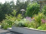 South facing gardens..