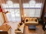 White sofas repalced