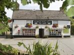 St Mawgan Village stores and Tea rooms.