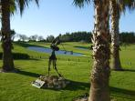 Numerious golf courses nearby