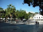 Albufeira square.