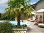 sunbathe, swim, relax .....