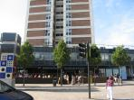 The Shoreditch House and the coffee restaurant underneath