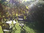 Rincón del jardin