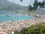 Views Over Zakynthos