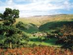 Buckden, Upper Wharfedale, below Buckden Pike