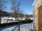 'Dalegarth' up-Dale balcony view in winter