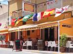 Real Spanish tapas bar for a nice sangria, 2 mins walking