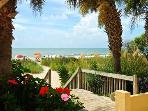 beach access from condo