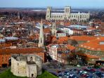 A great position to visit historic York.