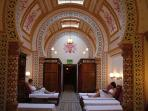 A must is a visit to Harrogate Turkish Baths.