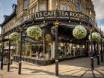 Another must is Bettys cafe tea room in Harrogate.