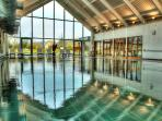 A swim with a view – all round panoramic glazing and double height aspect. Simply stunning!