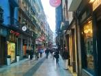 calle Artekale peatonal