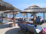 Nea Makri beach