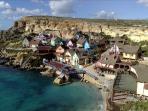 Popeye's village.