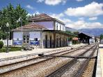 Pinhão railway station!