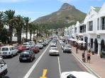 the Camps Bay promenade is within walking distance