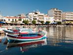 Beautiful and cosmopolitan Sitia