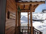 view from new chalet