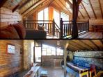 living space -new villa plus BBQ area