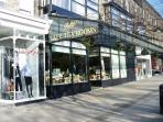 Bettys Tea rooms on The Grove, an easy stroll from the apartment