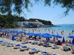 Bacvice - nearest sandy beach