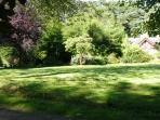 Courtyard Gardens - Glenfarquhar Lodge.
