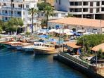 Restaurants on harbour's edge