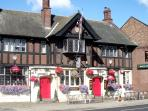The Masons Arms, & Travelodge are just 2 minutes walk away for great Value meals