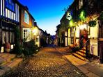 Rye is just 5 mins drive away and packed full of fantastic places to eat