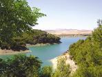 El Chorro lake views