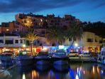 Capobino port