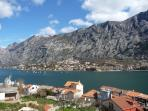 Beautiful Boka Kotorska from your balcony
