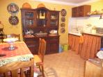 Kitchen with all the amenities for making your stay comfortable and easy