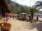 The market outside Kotor Old Town