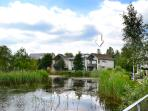 Clearwater 86 magnificent south facing detached lakeside house on on Lower Mill Estate