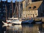 le port de Honfleur et la Lieutenance